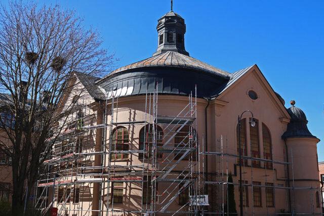 Byggplats Betlehemskyrkan